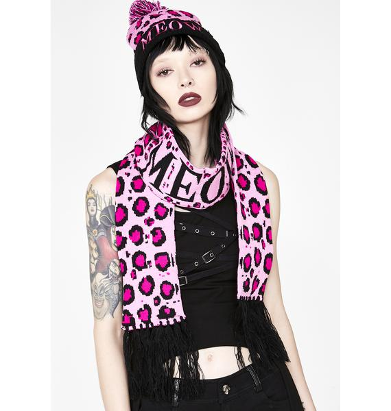 Sourpuss Clothing Meow Knit Scarf