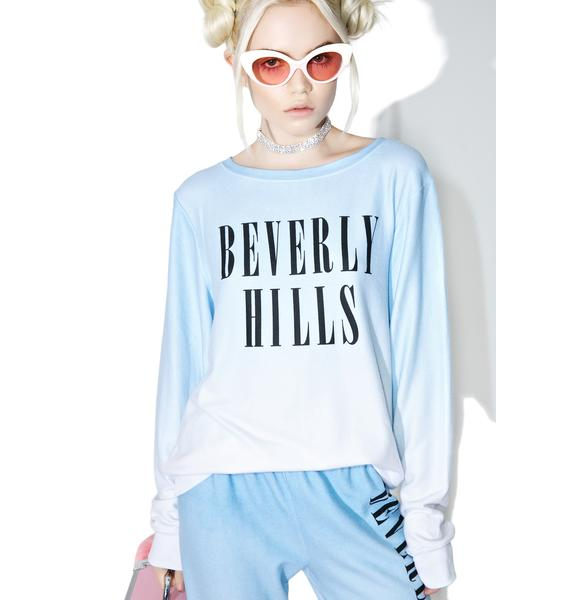 Wildfox Couture Beverly Hills Baggy Beach Jumper