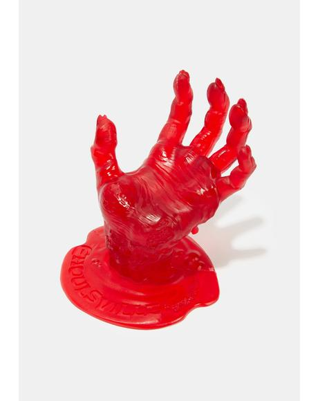 Bloody Zombie Hand Multipurpose Stand