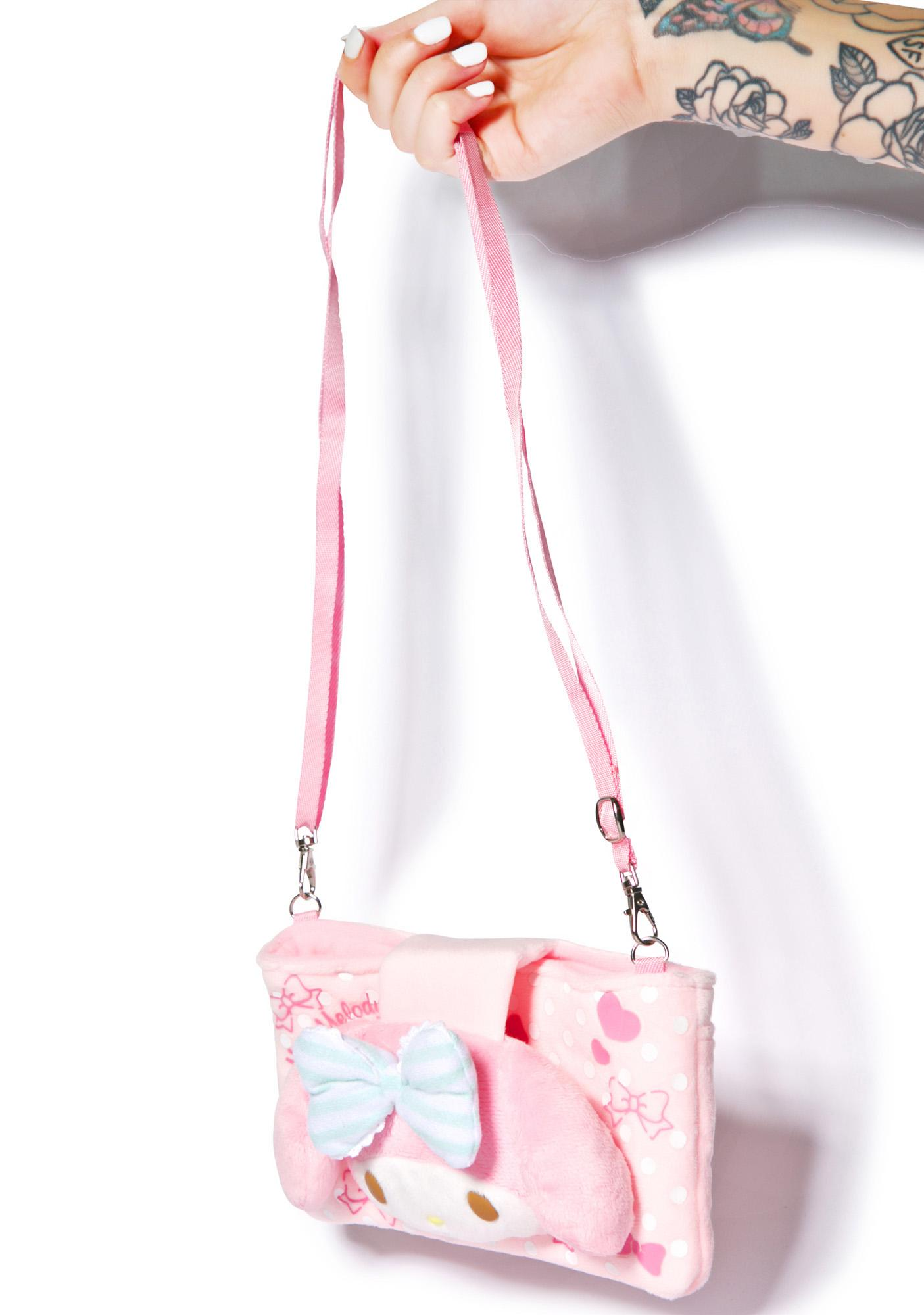 Sanrio My Melody Plush Bag