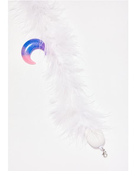 Fuzzy Wuzzy Moon Child Choker
