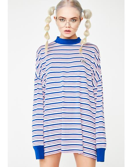 Stripey Eyes T-Shirt