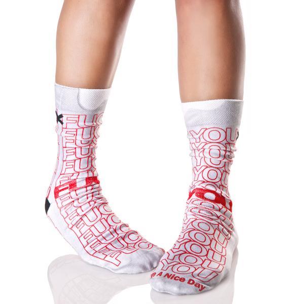 Odd Sox F U Socks