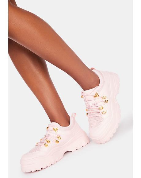 My Own Way Platform Sneakers