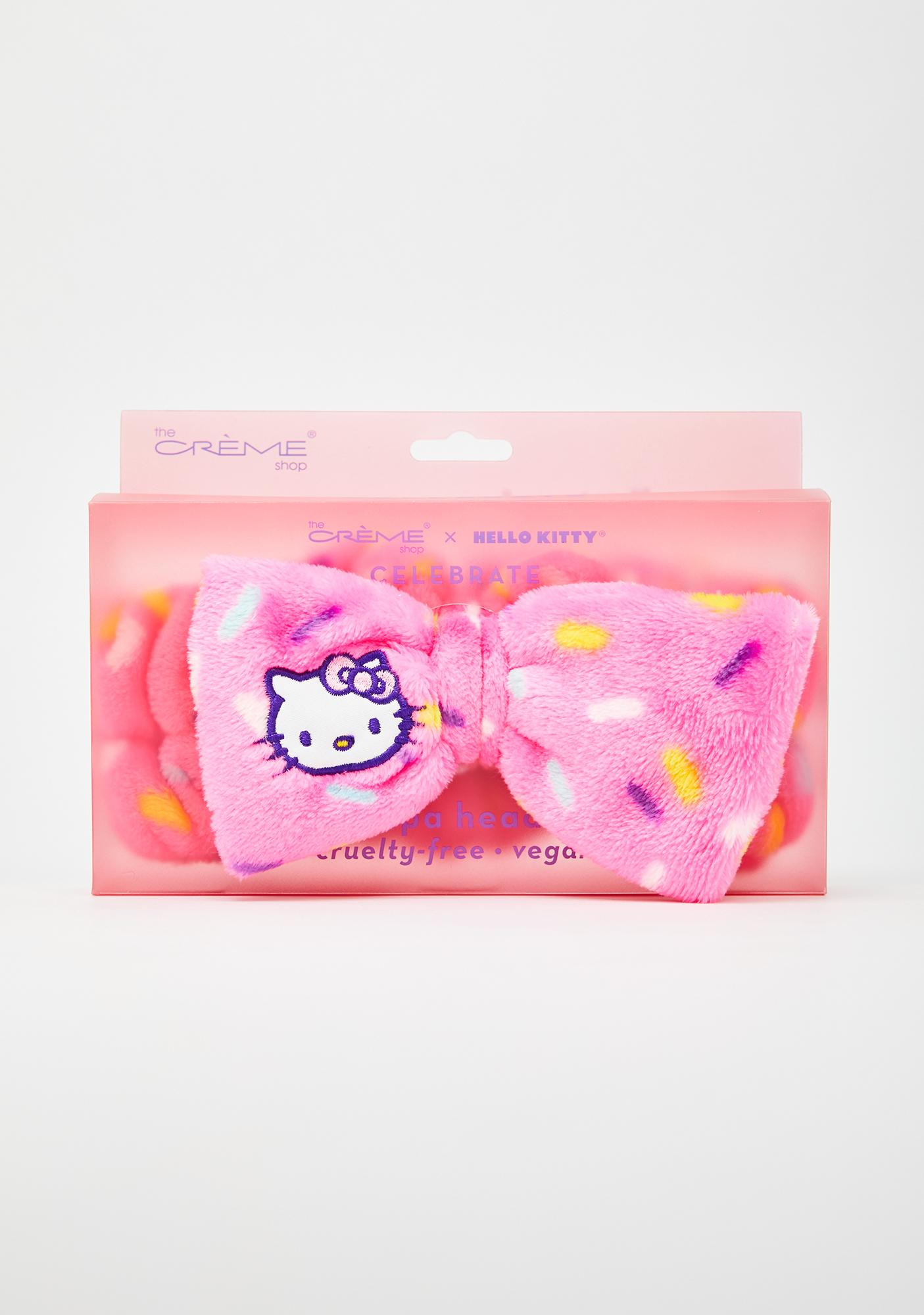 The Crème Shop Hello Kitty Spa Headband
