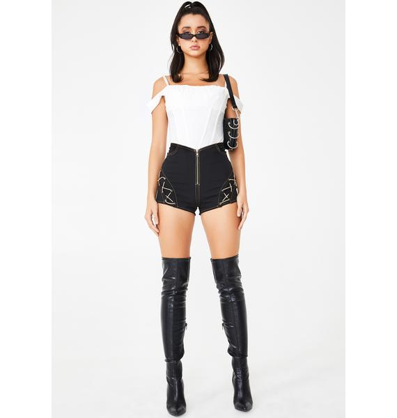 I AM GIA Ilia High Waist Shorts