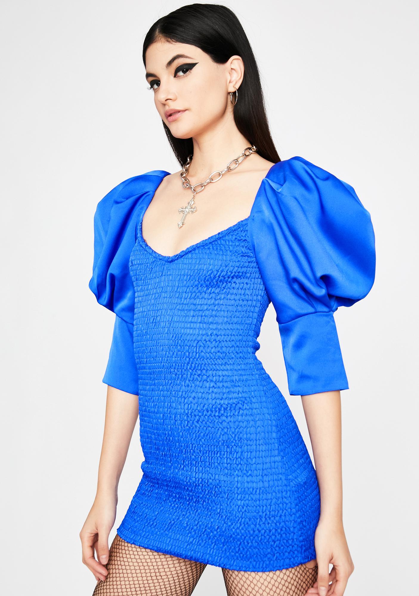 Royal Grand Glam Bodycon Dress