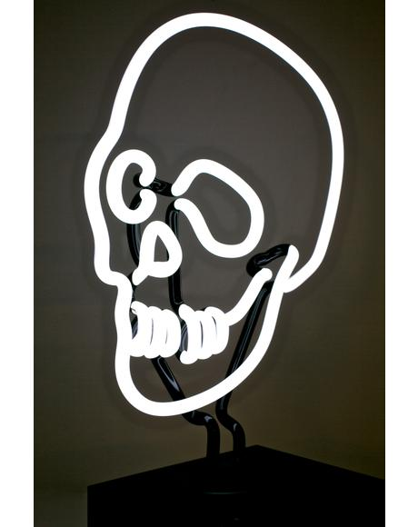 Skull Neon Light