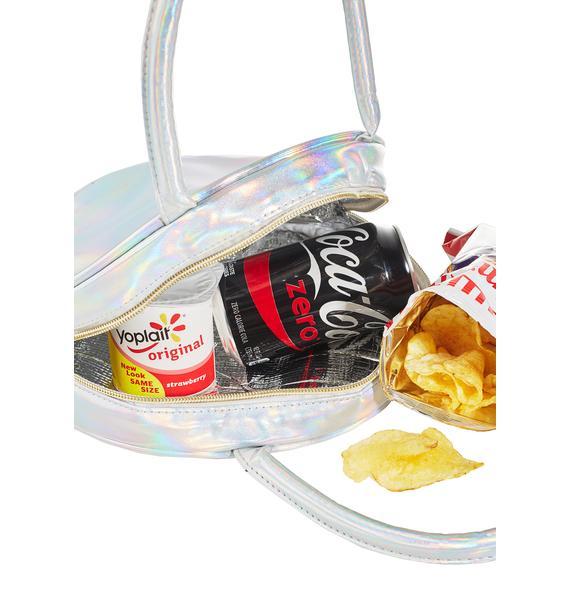 Girl's Gotta Eat Lunch Bag