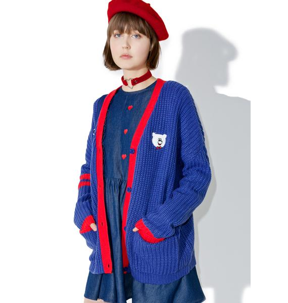Lazy Oaf Lazy College Cardigan