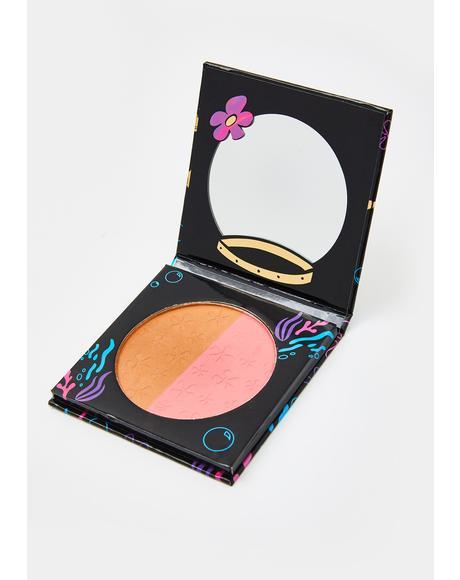 Sandy Cheeks Blush N Bronzer Compact