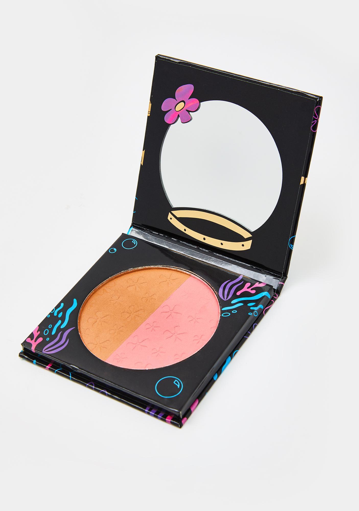 HipDot Sandy Cheeks Blush N Bronzer Compact