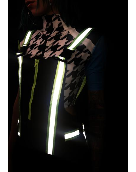 Overalls With Neon Reflective Straps