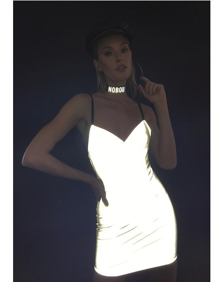Never Artificial Reflective Dress