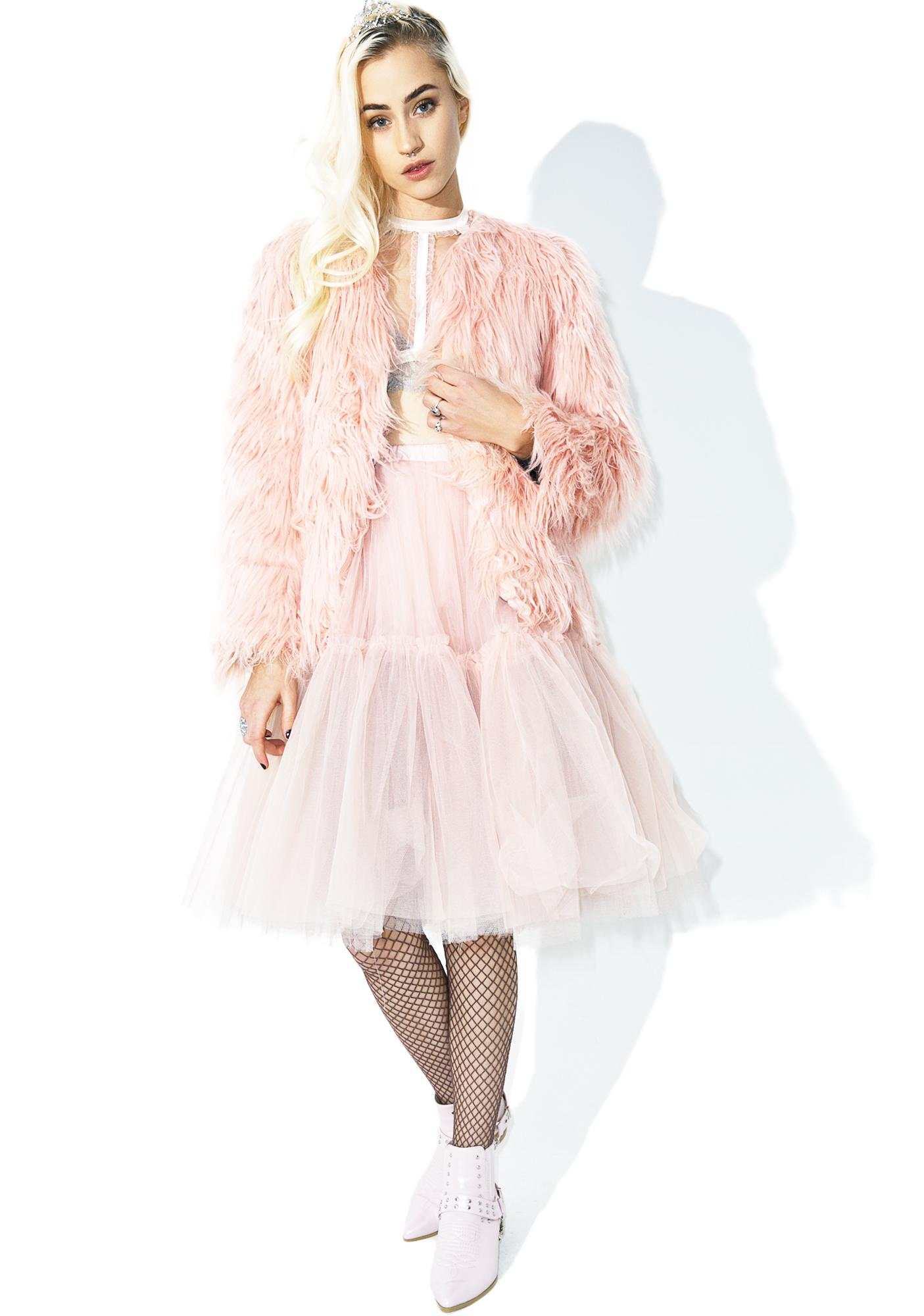 Candy Madison Faux Fur Coat
