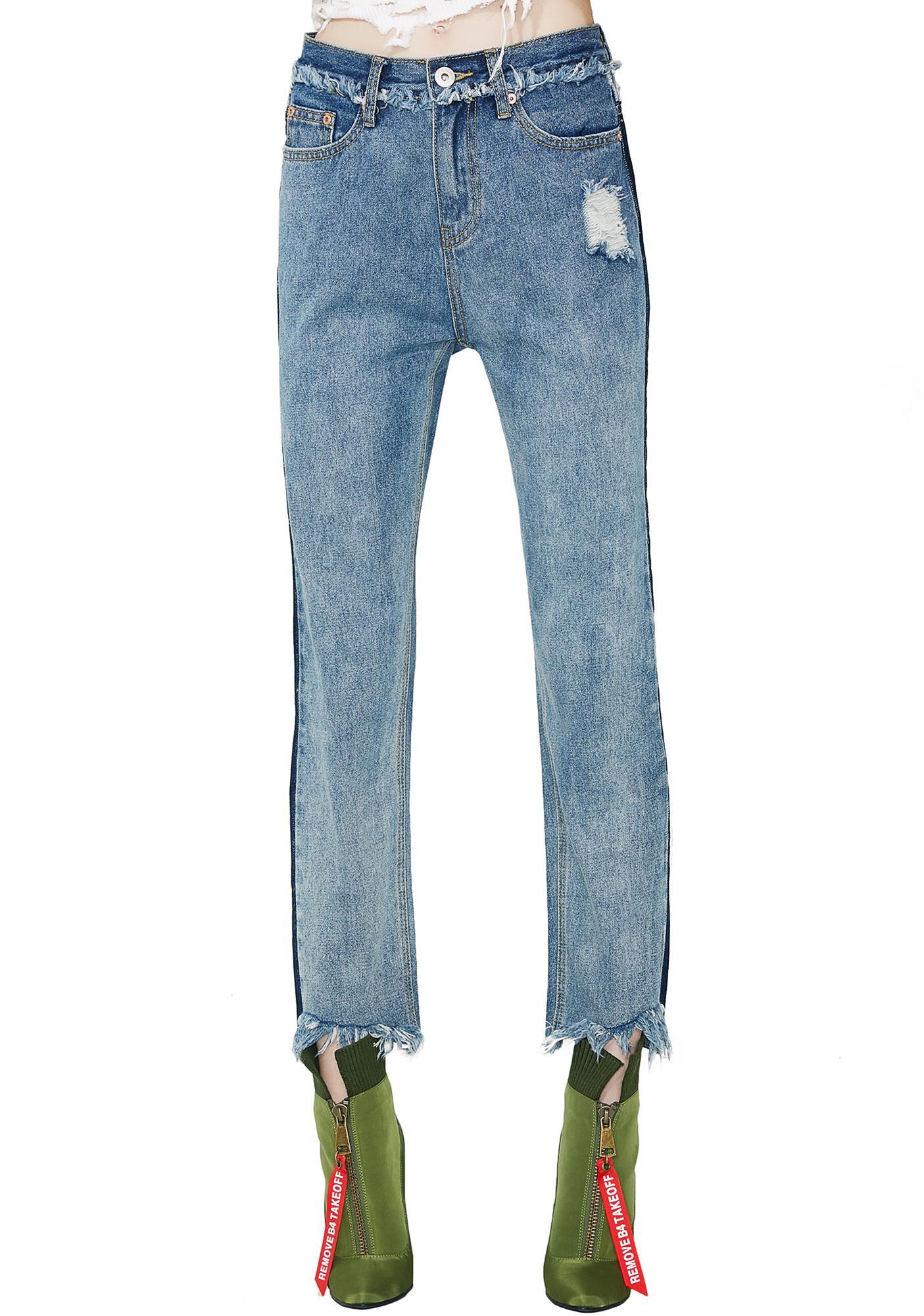 Double Standard Skinny Jeans