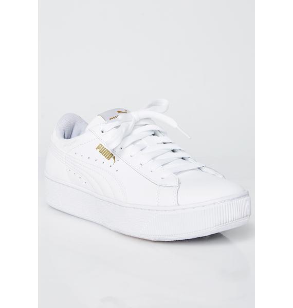 PUMA Vikky Platform LTHR P Sneakers