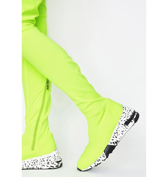 Slime Posse Poise Sneaker Boots