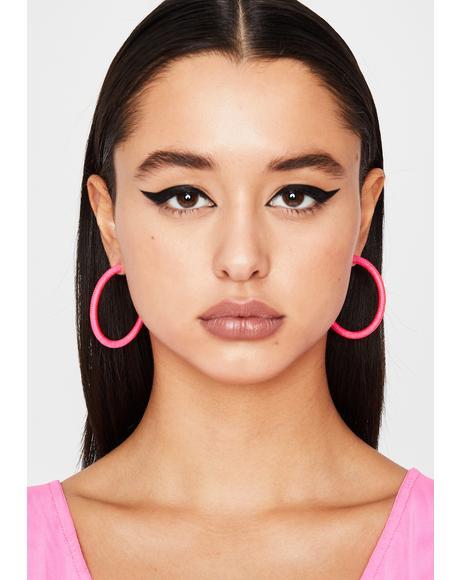 Sugar Do Me Right Hoop Earrings