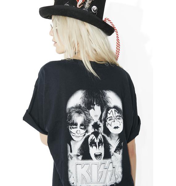 Vintage Kiss Front N' Back Tee