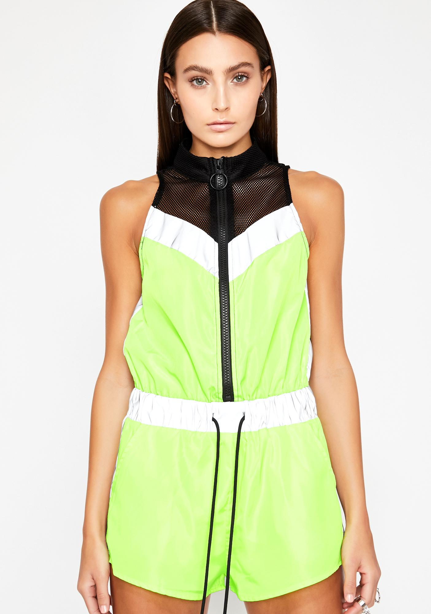Lightwave Reflective Romper