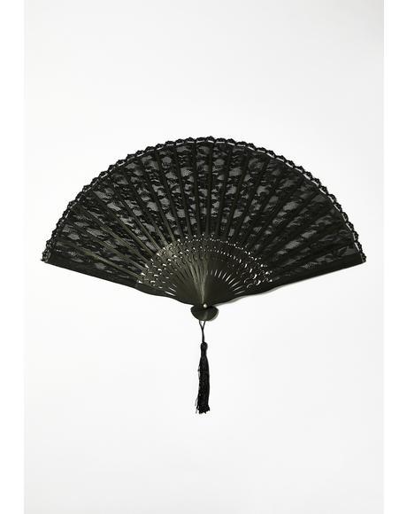 Highly Desired Lace Fan