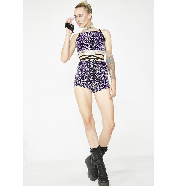 Magical Wonderland Amethyst Shorts