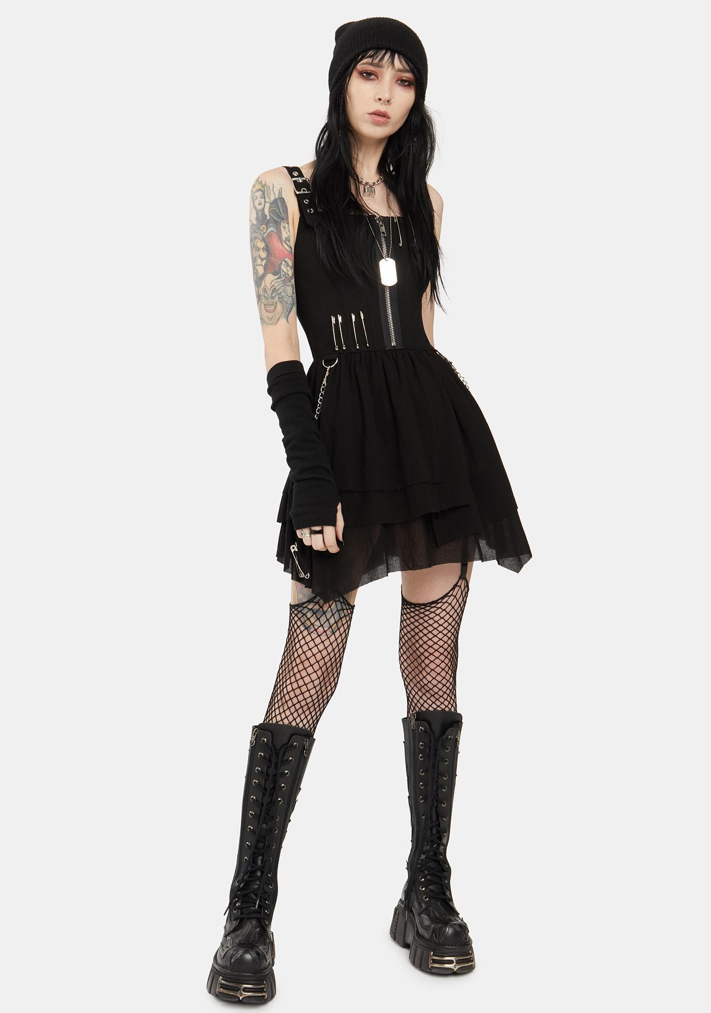 Current Mood Got My Revenge Bustier Dress