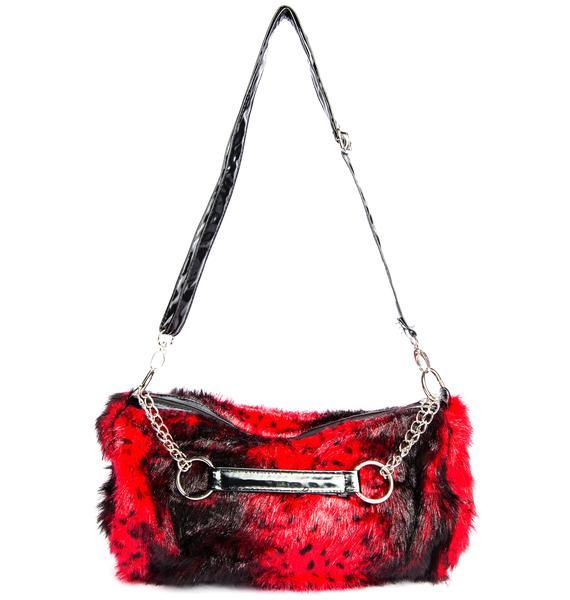 The Cliff Fur Chain Bag