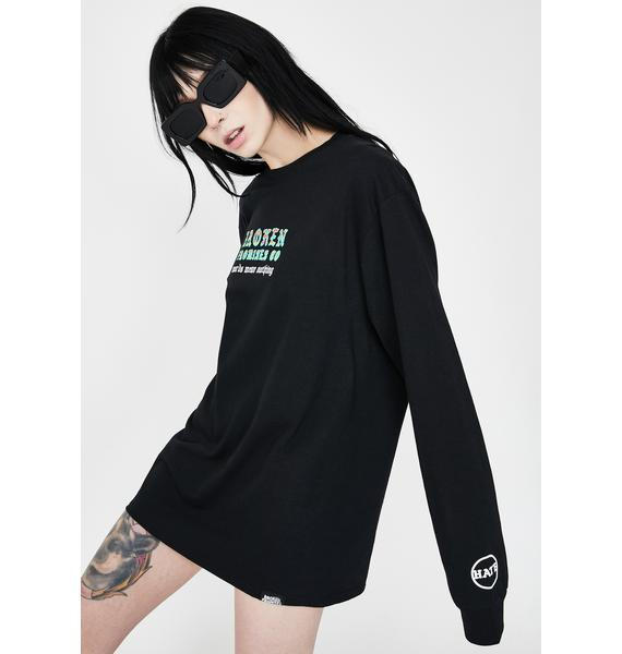 BROKEN PROMISES CO Divided Graphic Tee