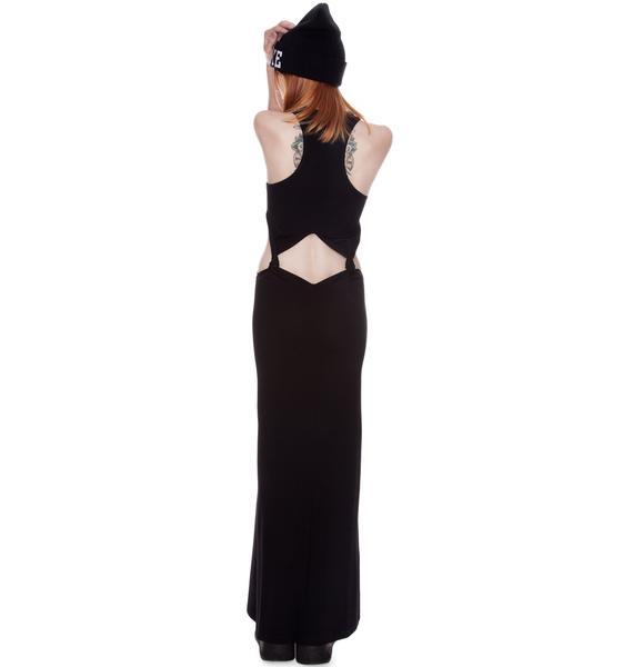 by Ronny Kobo Katie Knot Maxi Dress