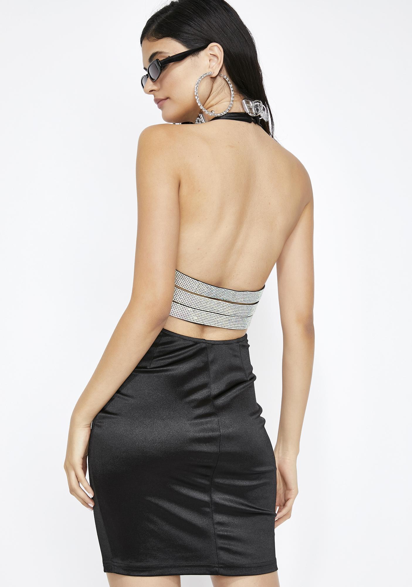 Luxxxe Life Halter Dress