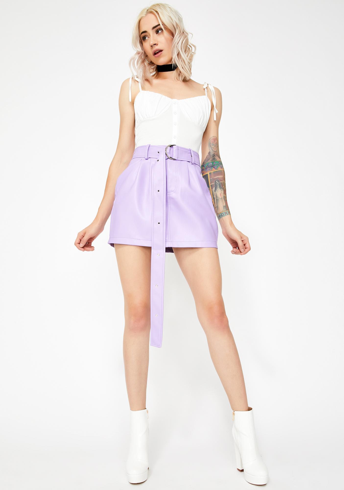 Kiki Riki White Feelin' Femme Bustier Top