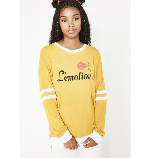 Wildfox Couture L' emotion Sweater