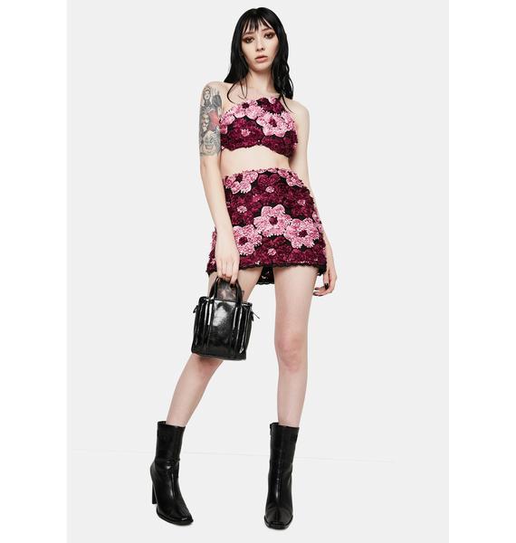 Kiki Riki Blooming Spotlight Floral Skirt Set
