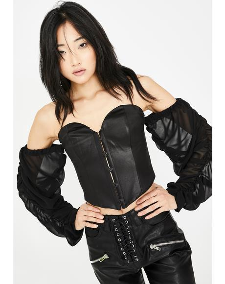 Forbidden Nights Bustier Top