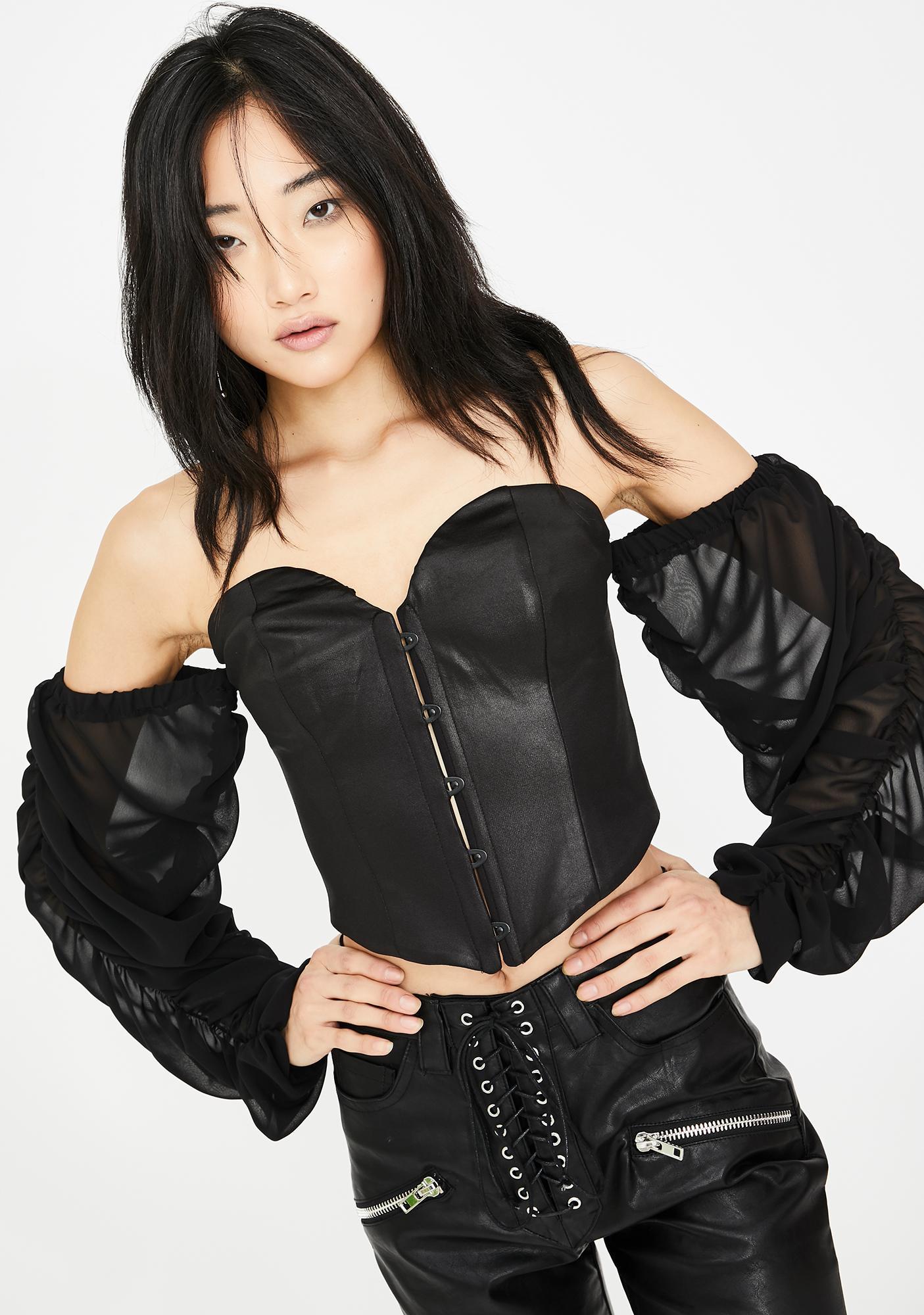 Kiki Riki Forbidden Nights Bustier Top