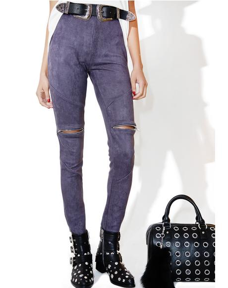 Cadet Knee Deep Suede Pants