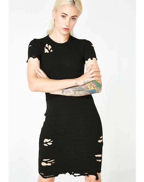 Pack Leader Distressed Dress