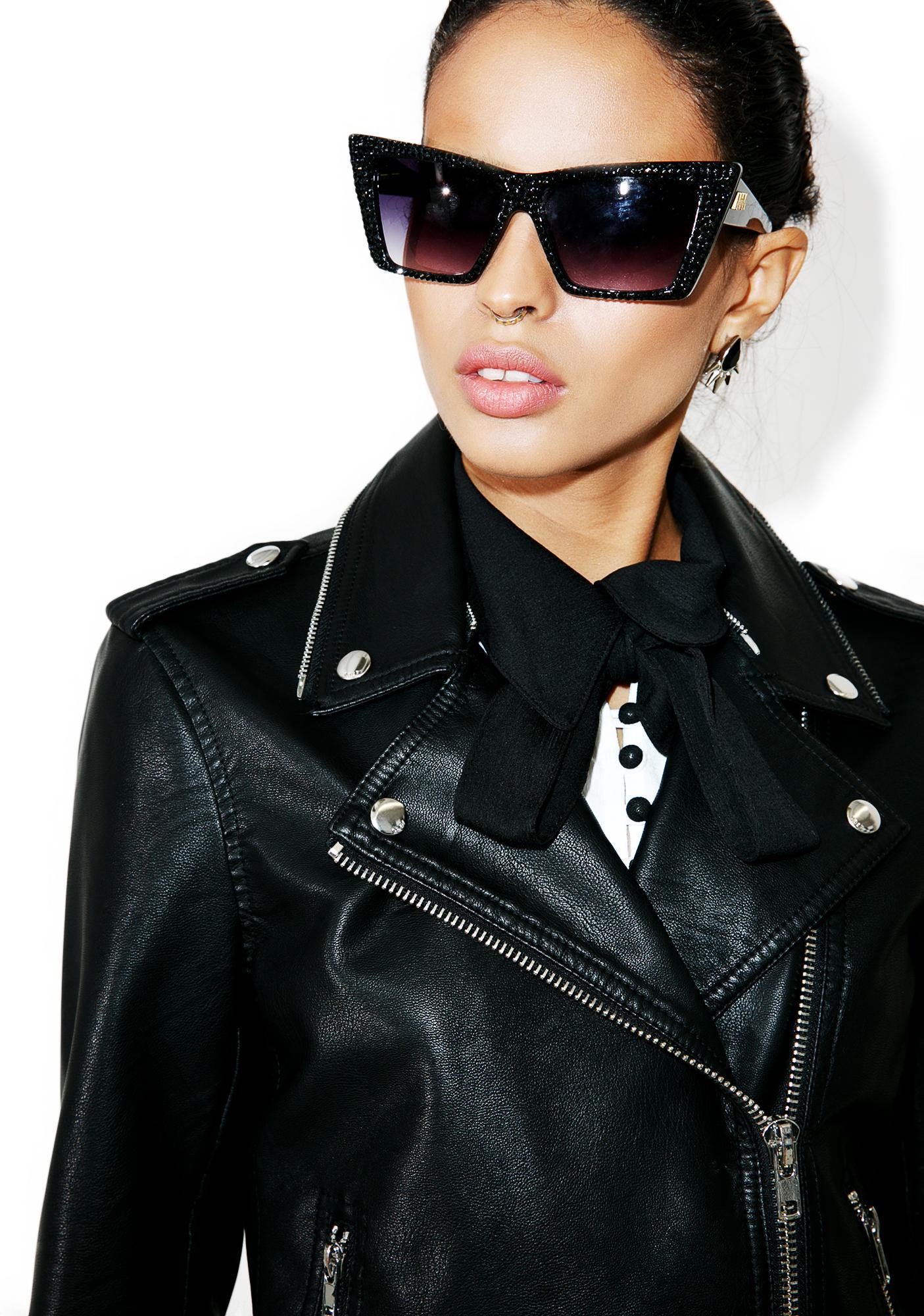 Obey Billie Vegan Leather Jacket