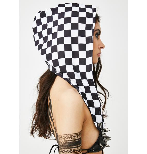 Final Finish Checkered Hood