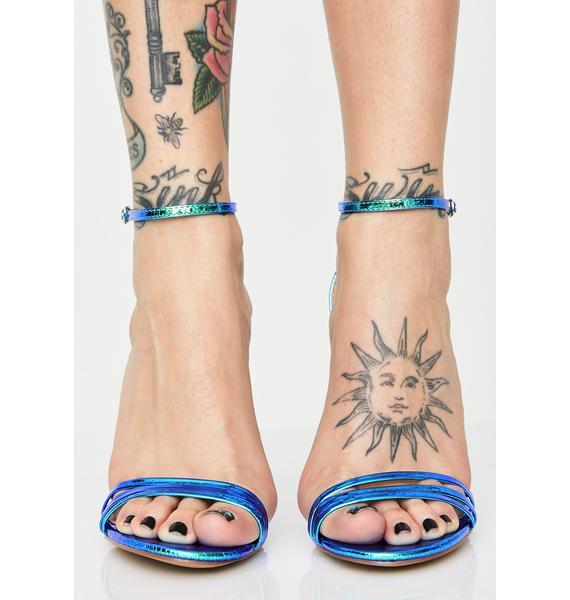 Baddie Flex Strappy Heels