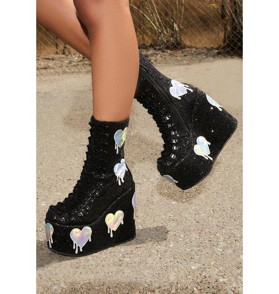 Club Exx Psychedelic Love Traitor Boots