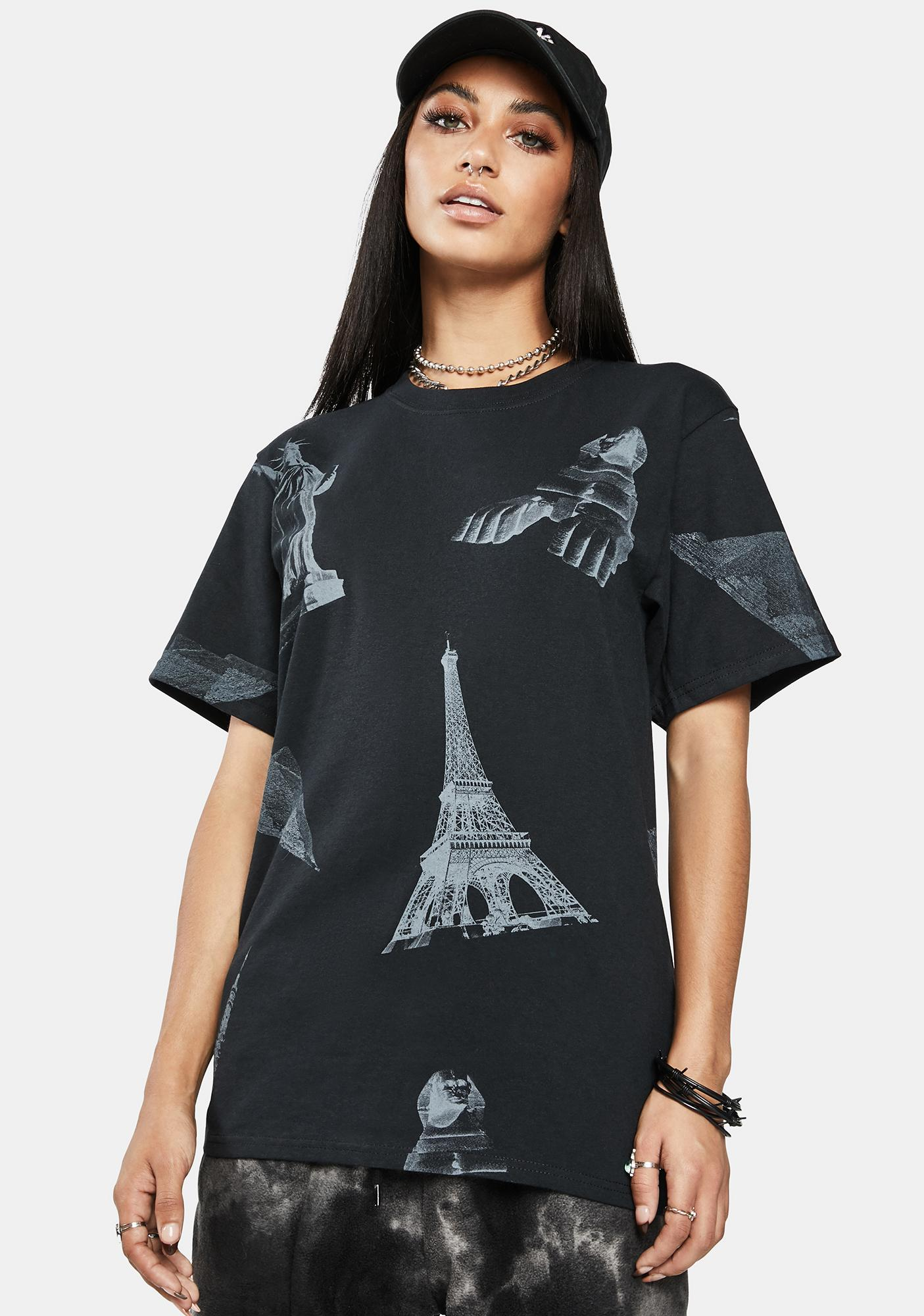 HUF Landmarks Short Sleeve Graphic Tee