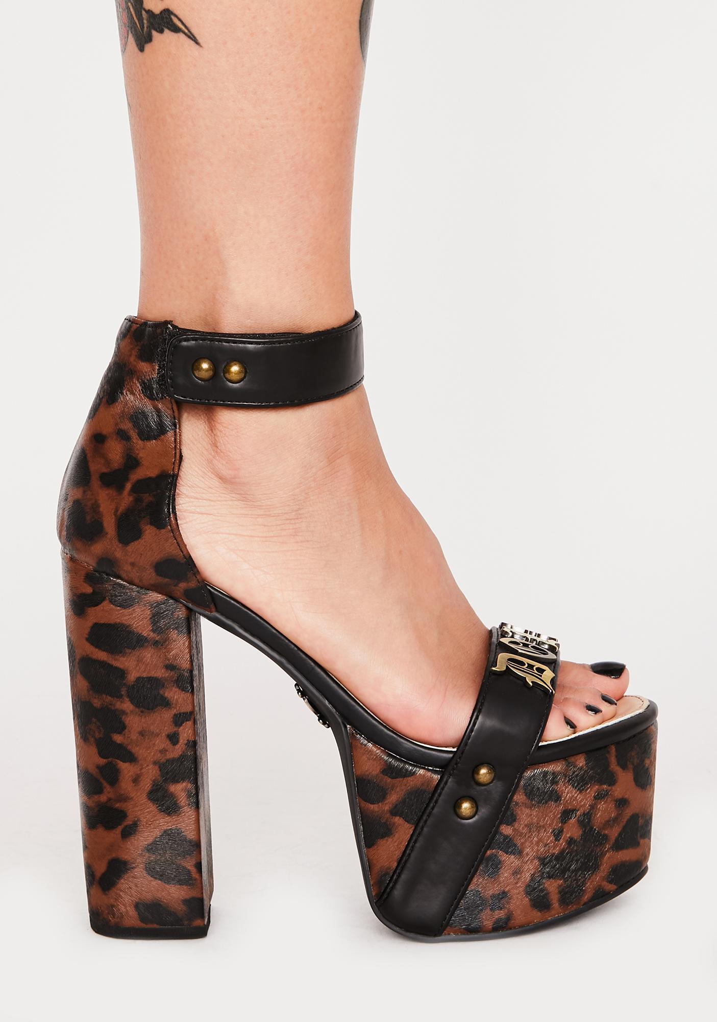 Charla Tedrick Dollface Platform Heels