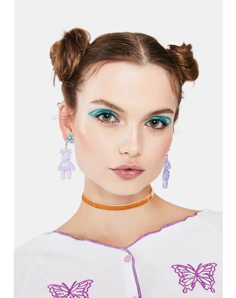 Unbearably Cute Acrylic Earrings
