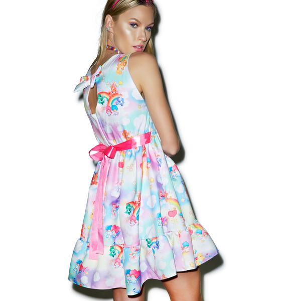 Japan L.A. Little Twin Stars X Care Bears Bow Back Dress