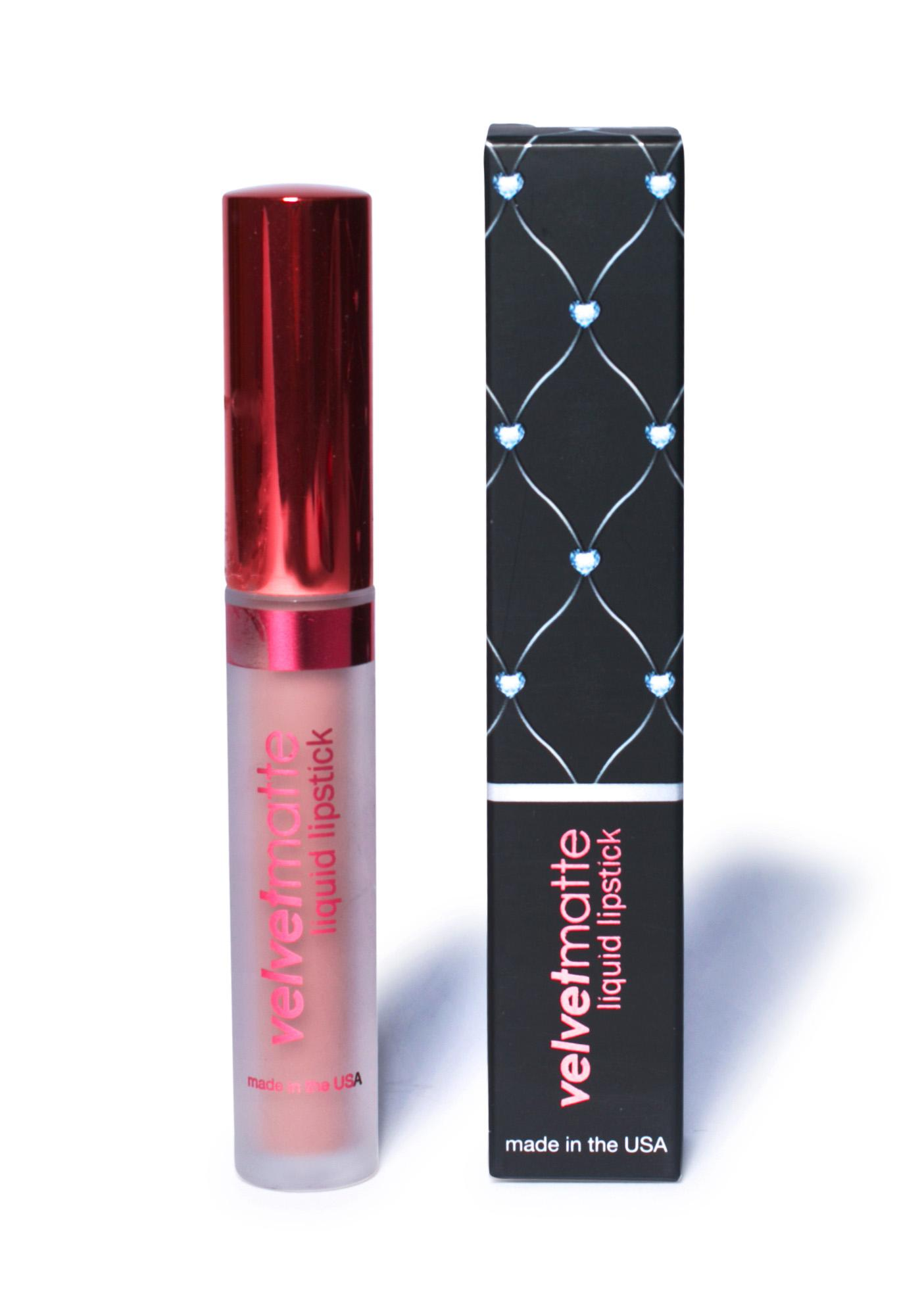 LA Splash Romance Velvet-Matte Liquid Lipstick