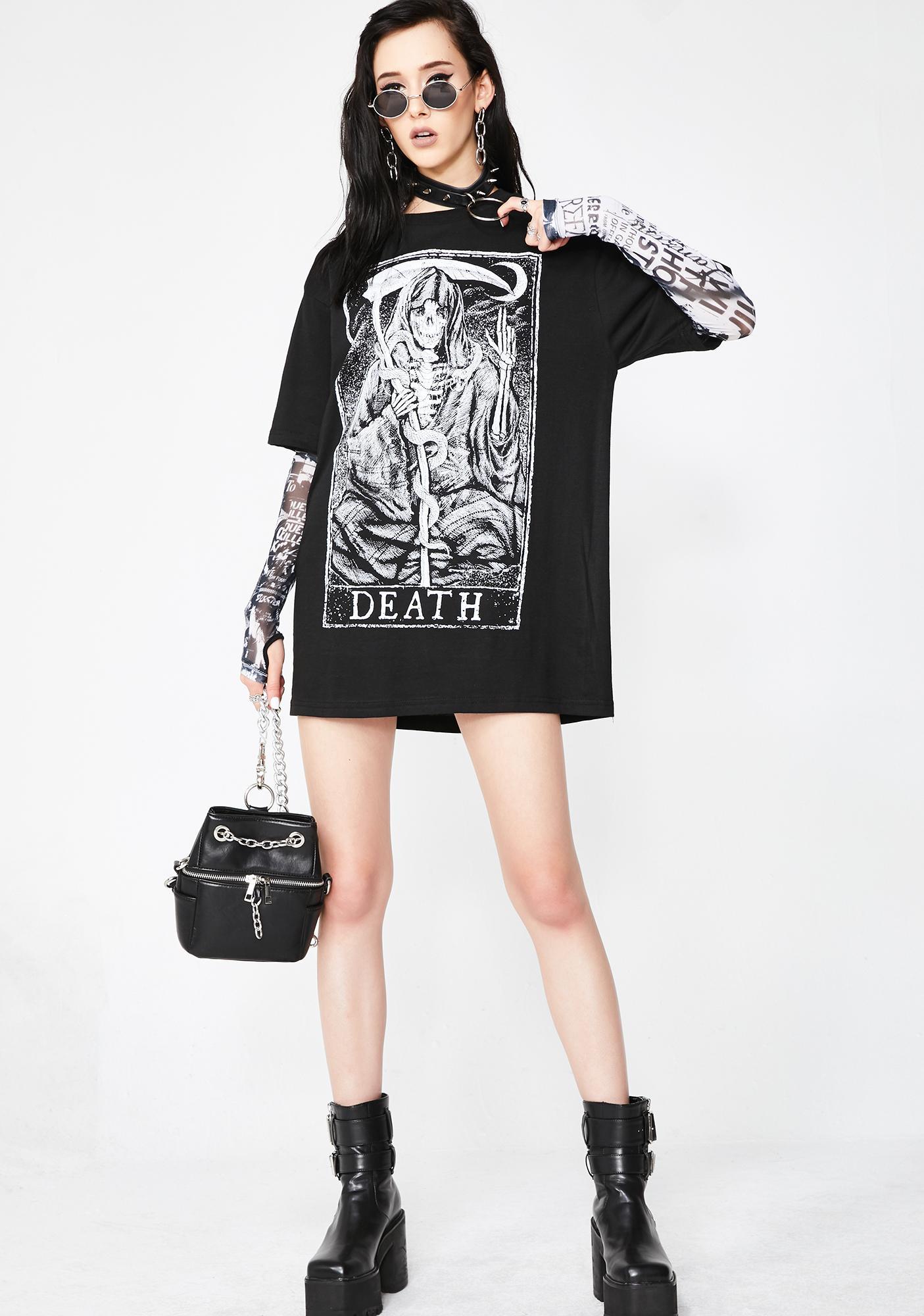 Mortus Viventi Death T-Shirt
