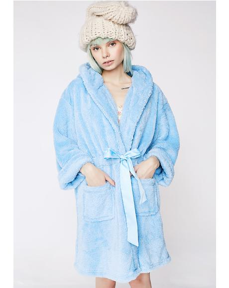 Teddy Bear Hooded Robe